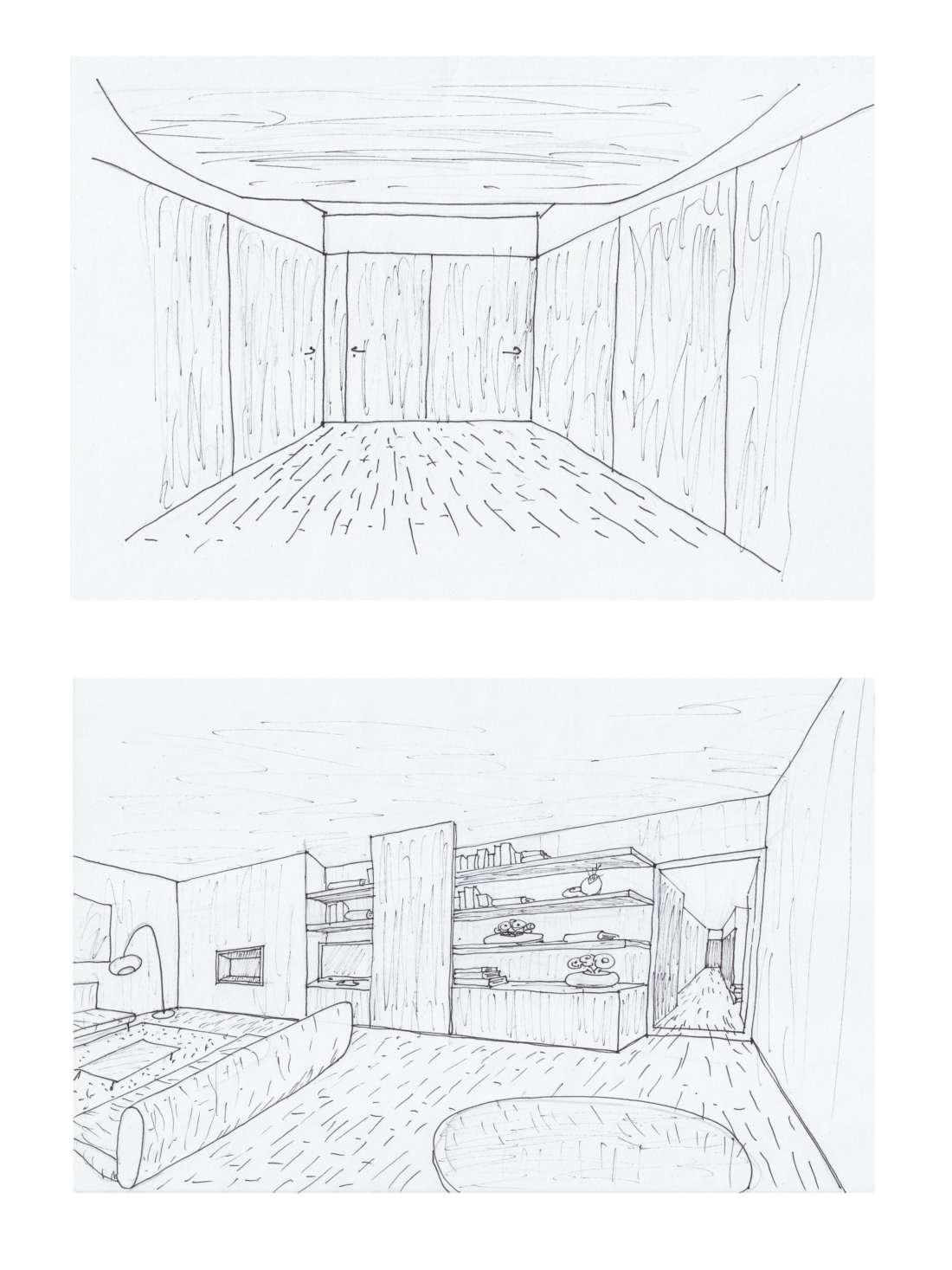 Utopia penthouse renovation for Renovation drawings
