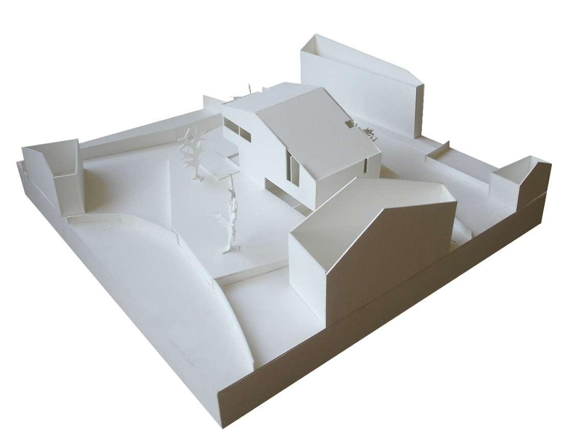 Utopia vivienda unifamiliar moderna for Honorarios arquitecto vivienda unifamiliar