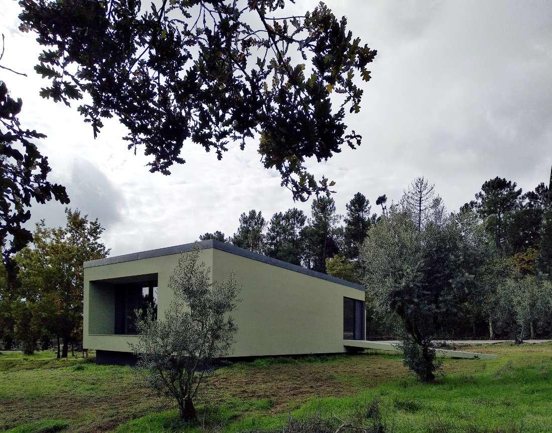 Solar passive building in Portugal