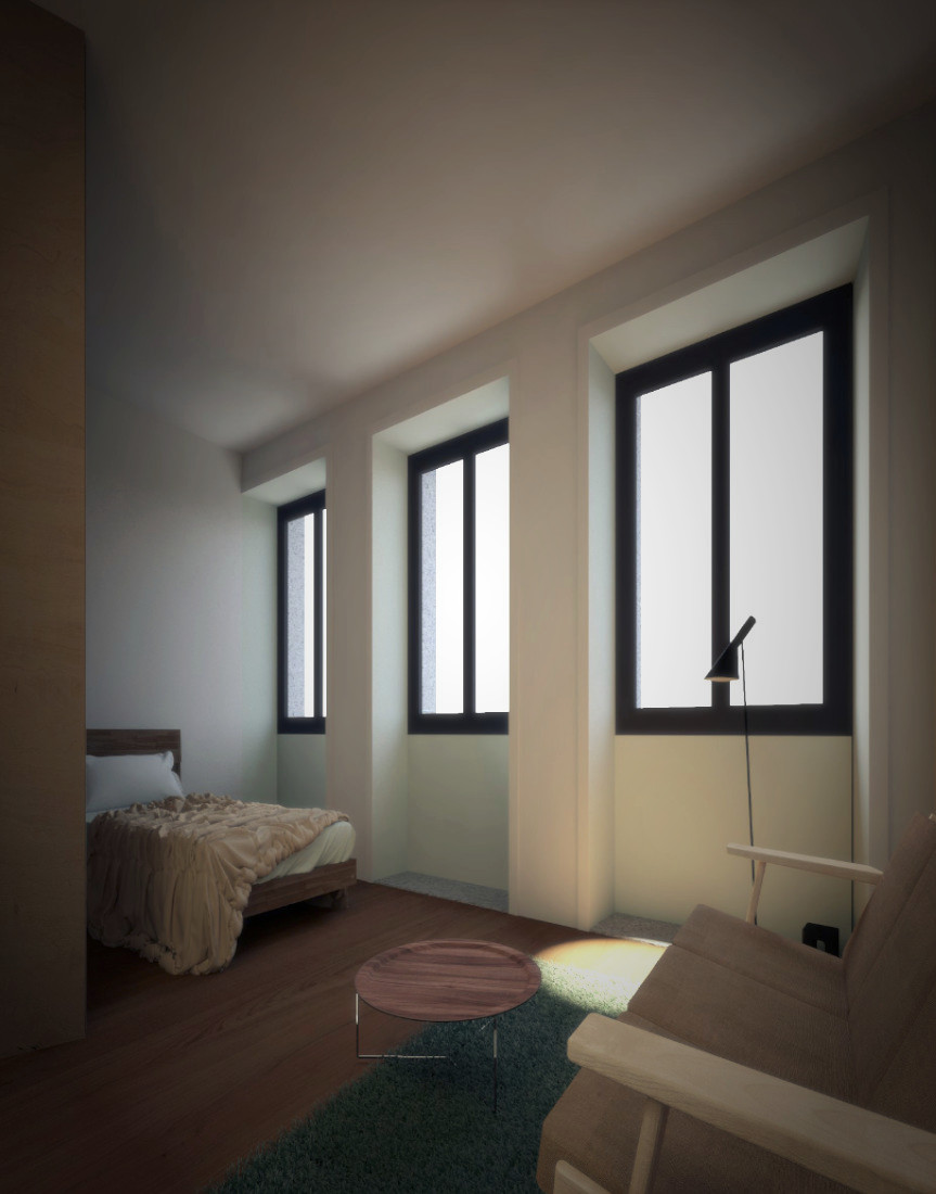 Building reconstruction - real estate investment in Porto