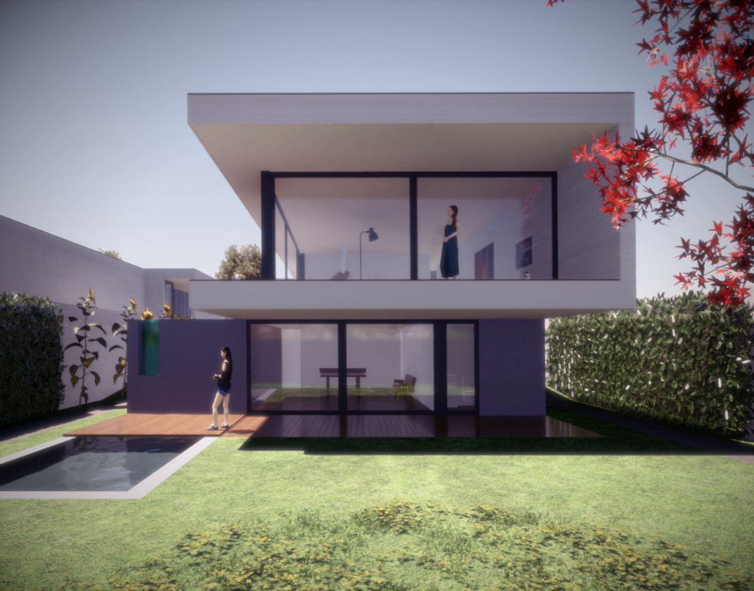 House in Sustainable Residential Allotment in Portugal