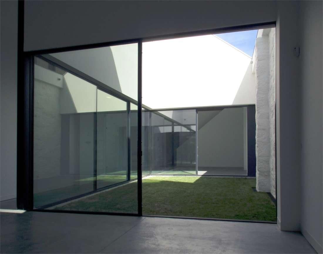Loft House interior garden