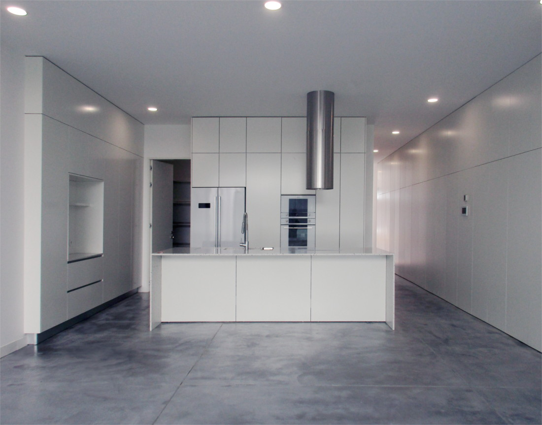 Loft House kitchen