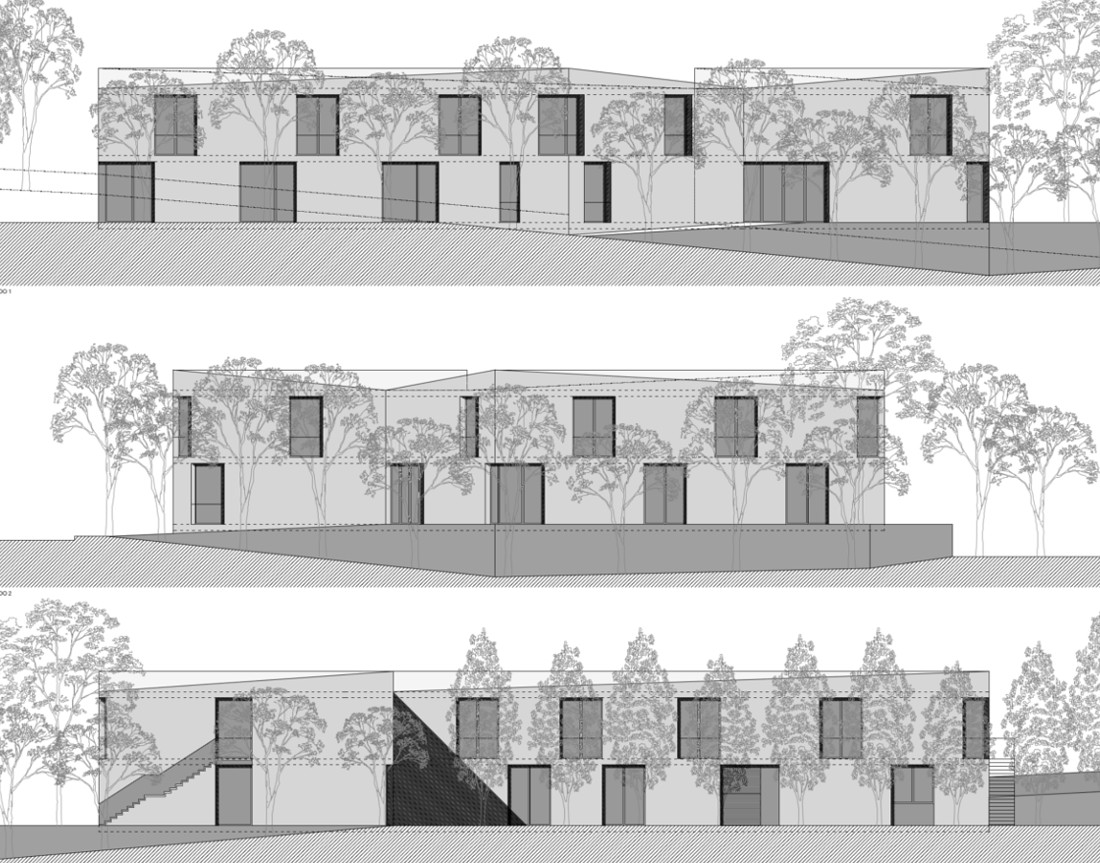 Nursing home in Portugal - Project's Facades