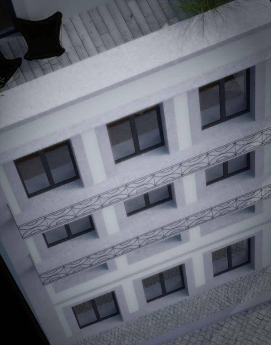 Porto historical centre housing building architect
