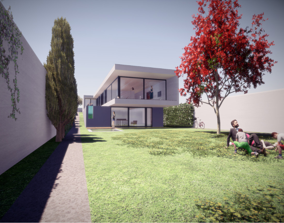 Residential Allotment in Portugal - House with garden