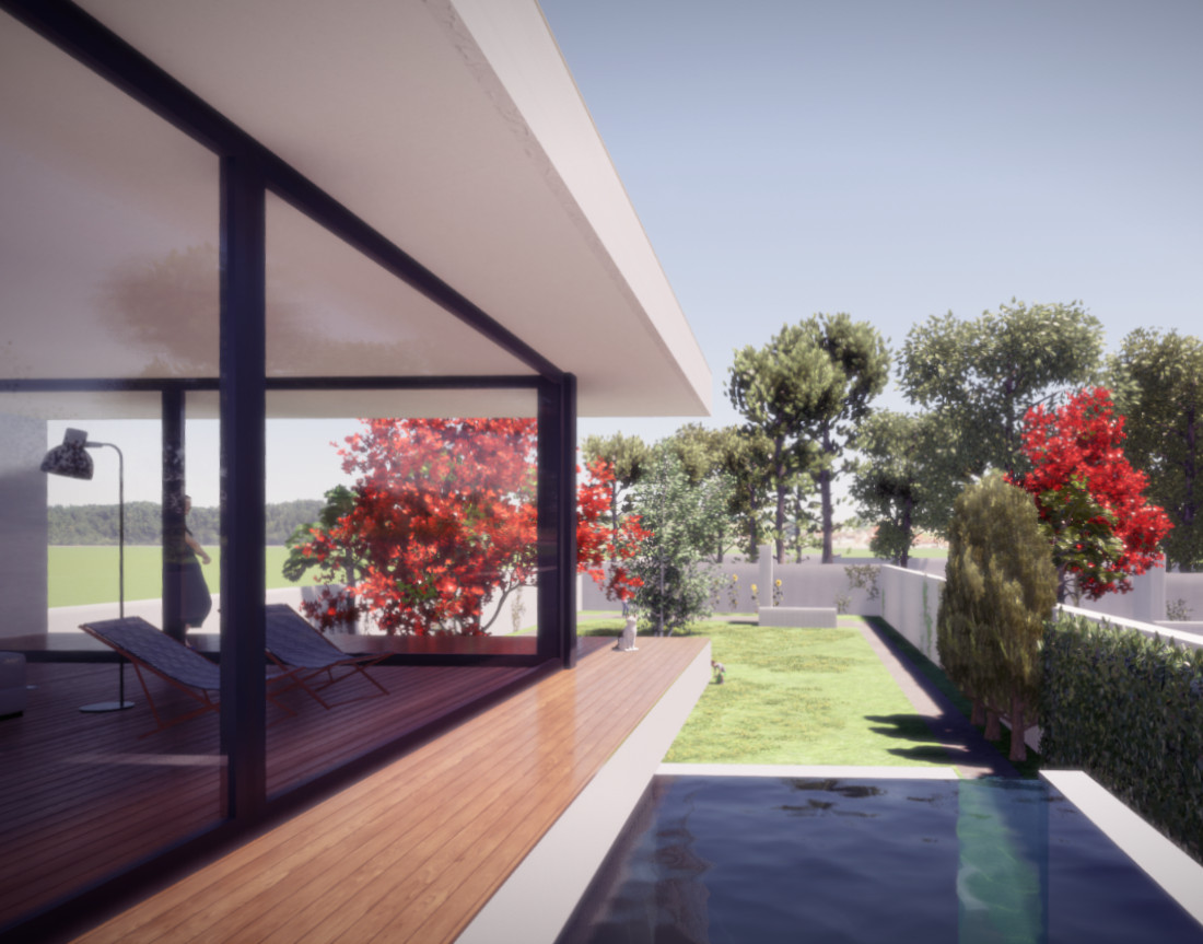 Residential Allotment in Portugal - Pool House