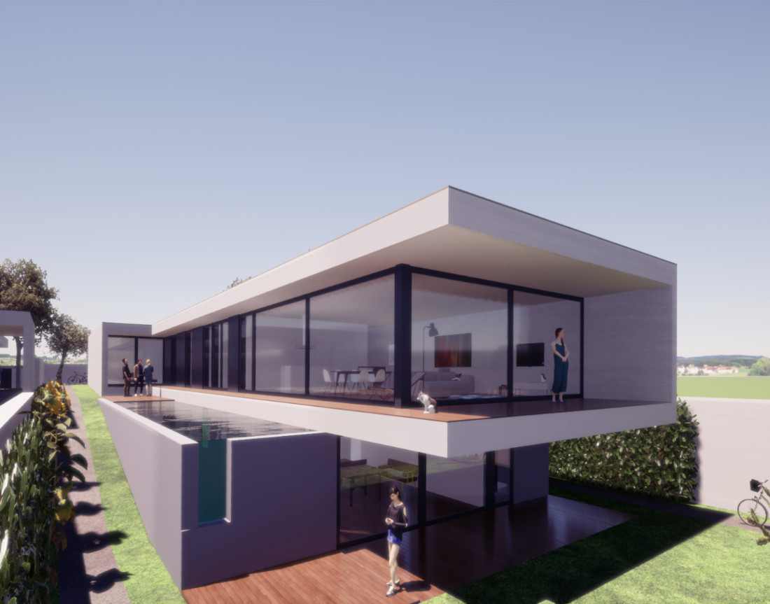 Residential Allotment in Portugal - Sustainable House