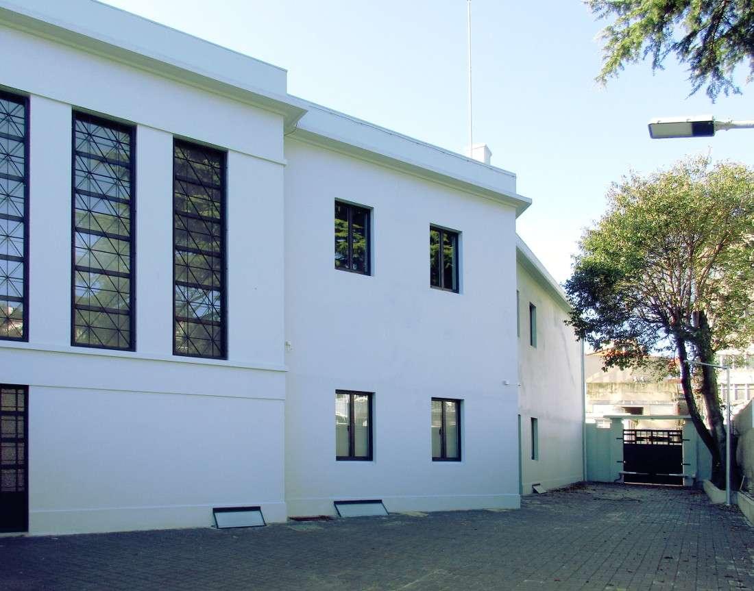 Historic Building Rehabilitation Backyard